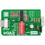 MIKROE-82, IrDA2 Board, Дочерняя плата с IrDA интерфейсом