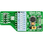 MIKROE-80, DAC Board, Дочерняя плата с ЦАП