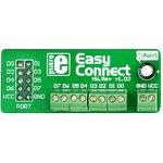 MIKROE-194, EasyConnect2 Board, Макетная плата с клеммниками под винт