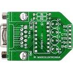 Фото 2/5 MIKROE-222, MAX232 Board, Периферийный модуль для подключения через интерфейс RS232