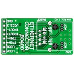Фото 3/5 MIKROE-224, Ethernet Connector Board, Дочерняя плата с Ethernet-интерфейсом