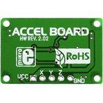 Фото 2/4 MIKROE-254, Three-Axis Accelerometer Board, Плата акселерометра на базе ADXL330