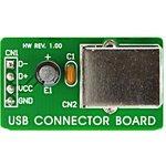 MIKROE-269, USB Connector Board, Дочерняя плата с ...