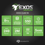 Фото 2/3 ST6000NM0095, Накопитель на жестком магнитном диске Seagate Жесткий диск Exos 7E8 HDD 6TB Seagate Enterprise Capac