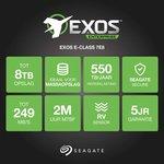 Фото 3/3 ST6000NM0095, Накопитель на жестком магнитном диске Seagate Жесткий диск Exos 7E8 HDD 6TB Seagate Enterprise Capac