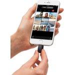 Фото 5/6 SDIX30C-016G-GN6NN, Флеш-накопитель Sandisk Флеш-накопитель SanDisk iXpand Flash Drive 16GB - USB for iPhone (lightning