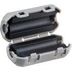 Фото 4/5 Ферритовый фильтр на кабель с защелкой ZCAT1730-0730A, серый
