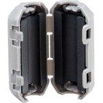 Фото 5/5 Ферритовый фильтр на кабель с защелкой ZCAT1730-0730A, серый