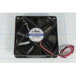 Вентилятор 12В, долговечный и высокотемпературный подшипник скольжения ...