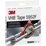Фото 2/3 5952 F VHB™, Лента монтажная двусторонняя, черная, 19 мм х 3 м
