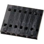 104257-6, Розетка на каб 7-контактная шаг 2.54