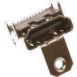 HDMI-19R (DS1115-B-N-0), Розетка с креплением 19pin на плату ...