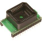 DIP24-PLCC32, Адаптер для программирования микросхем 2/4 ...