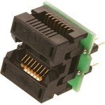 DIP16-SOIC16, ZIF-WELLS 150 mil адаптер
