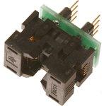 DIP-SOIC 8 pin 150 mil, ZIF-Wells, Адаптер для программирования микросхем (=TSU-D08/SO08-150)