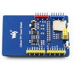 Фото 2/4 2.8inch TFT Touch Shield, TFT дисплей 320×240px с резистивной сенсорной панелью совместимый с Arduino UNO/Leonardo, UNO PLUS