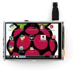 Фото 3/7 3.5inch RPi LCD (A), TFT дисплей 320×480px с резистивной сенсорной панелью для Raspberry Pi