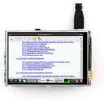 Фото 6/7 3.5inch RPi LCD (A), TFT дисплей 320×480px с резистивной сенсорной панелью для Raspberry Pi