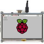 Фото 8/8 5inch HDMI LCD, HDMI дисплей 800×480px с резистивной сенсорной панелью для Raspberry Pi