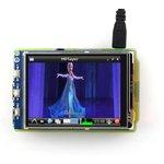 Фото 8/8 3.2inch RPi LCD (B), TFT дисплей 320×240px с резистивной сенсорной панелью для Raspberry Pi