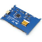 Фото 6/8 5inch HDMI LCD (B), HDMI дисплей 800×480px с резистивной сенсорной панелью для Raspberry Pi