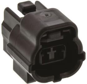 174352-2, Conn Housing PL 2 POS 4.8mm Crimp ST Cable Mount Automotive Bag
