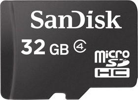 SDSDQM-032G-B35, Карта памяти SanDisk 32Gb microSDHC Class4