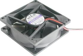 JF0825B1H, Вентилятор 12В, 80х80х25мм, подшипник качения 3500 об/мин