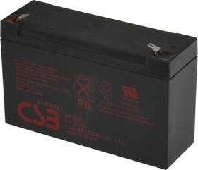 GP6120, Аккумулятор свинцовый 6B-12Ач 151x50x94