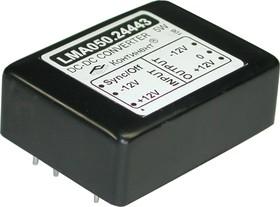 LMA050.24443, DC/DC преобразователь, 5Вт, вход 9-18В, выход 12, -12В/210мА