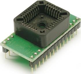 Фото 1/2 DIP28-PLCC32, Адаптер для программирования микросхем 8-512 Кбит E/EEPROM (=AE-P32-28, TSS-D28/PL32-MEM)