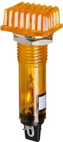 Фото 1/2 P-807Y, Лампа накаливания с держателем желтая 12V