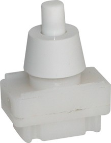 PBS17A-3, Кнопка белая ON-OFF (2A 250VAC)