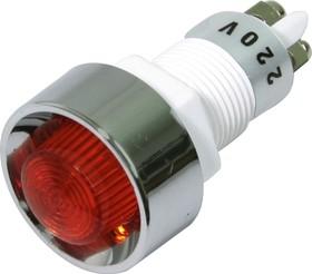 N-836R (CA-12NR), Лампa неоновая Ф12 красн
