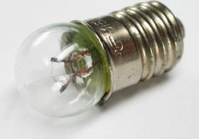 Фото 1/2 МН6.3-0.3, Лампа накаливания (6.3В, 0.3А), цоколь Е10/13
