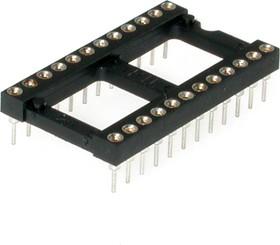 Фото 1/2 TRL-24 (DS1001-01-24W), DIP панель 24-контактная цанговая широкая