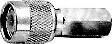 HYR-0211B (GT-211B) (TNC-7410A), Разъем TNC, штекер, RG-59, вкручивающийся (Twist-on)