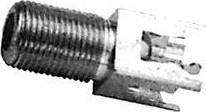 HYR-0817 (GF-817) (F-7228), Разъем F, гнездо, на плату