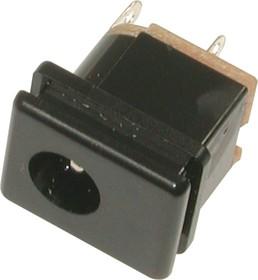 DS-207, Гнездо питания 2,1х5,5ммна панель