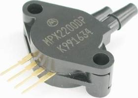 MPX2200DP, Датчик давления дифференциальный компенс 200кПа 40мВ 10В 1.85% пластик 2 патр.
