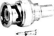 HYR-0113B (GB-113B) (BNC-7003), Разъем BNC, штекер, RG-59, обжим (Crimp)