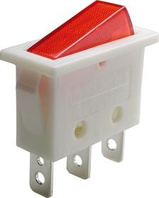 Фото 1/2 B1202 (SWR51L), Выключатель с лампочкой ON-OFF (250В16А)