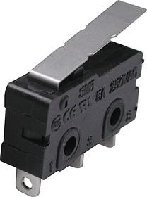 Фото 1/2 SM5-02N-38G, Микропереключатель с лапкой (250В5А)