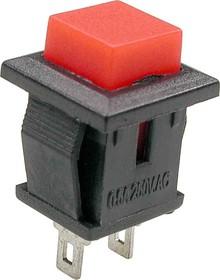 PB-02R, Кнопка красная без фиксации (SPA-108B1)(PSW9A)
