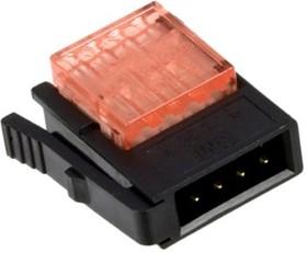 37104-B101-00E-MB, Conn Power PL 4 POS IDT ST Cable Mount 4 Terminal 1 Port Box