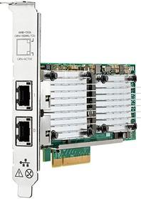 656596-B21, Плата коммуникационная HPE HP Ethernet 10Gb 2-port 530T Adapter