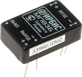 МПВ3Б, DC/DC преобразователь, 3Вт, вход 18-36В, выход 6В/500mA