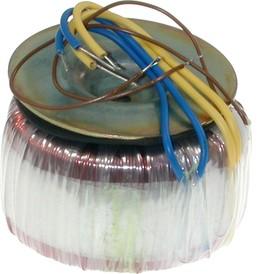 Фото 1/2 ТТП-50 (2х15В, 1.5А), Трансформатор тороидальный, 2х15В, 1.5А