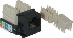 F2550, Розетка 8P8C в коробку