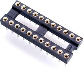 TRS-22 (SCSM-22), DIP панель 22-контактная цанговая